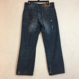 Vigoss Distress Mens Jeans Size 34x32